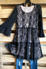 AHB EXCLUSIVE: Beautiful Melodies Tunic/Dress - Black