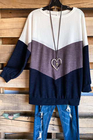 Just As You are Kimono - Navy - SALE