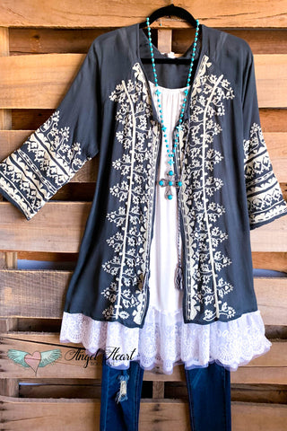 AHB EXCLUSIVE: Like A Dream To Me Tunic - Black