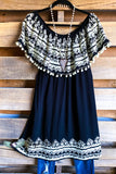 AHB EXCLUSIVE: Beautiful Reflection Tunic - Black