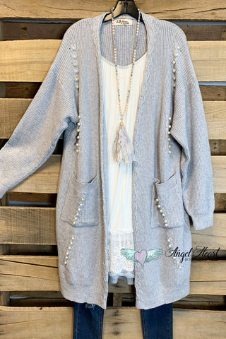 Hold My Hand Poncho - Charcoal