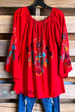 AHB EXCLUSIVE: Loving You Today Tunic - Red