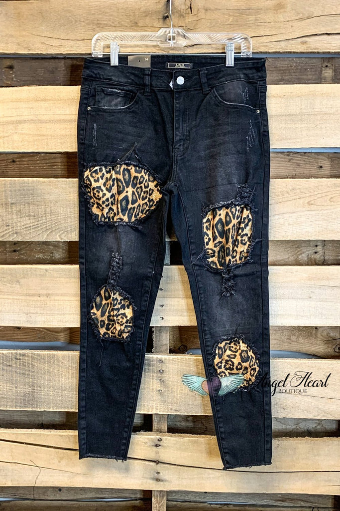 My Feline Side Jeans - Black