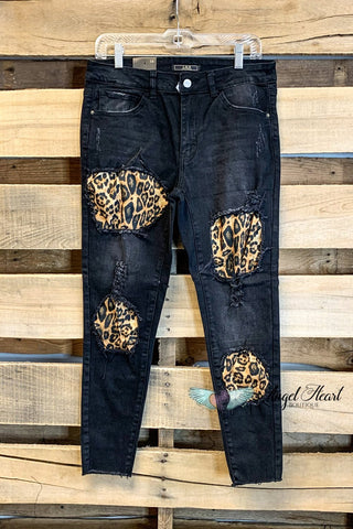 Crazy For Your Love High Waist Jeans - Dark Wash