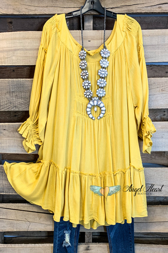 Like Your Style Dress - Goldenrod