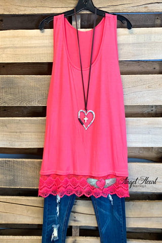 AHB EXCLUSIVE - The Most Beautiful Top - Crimson