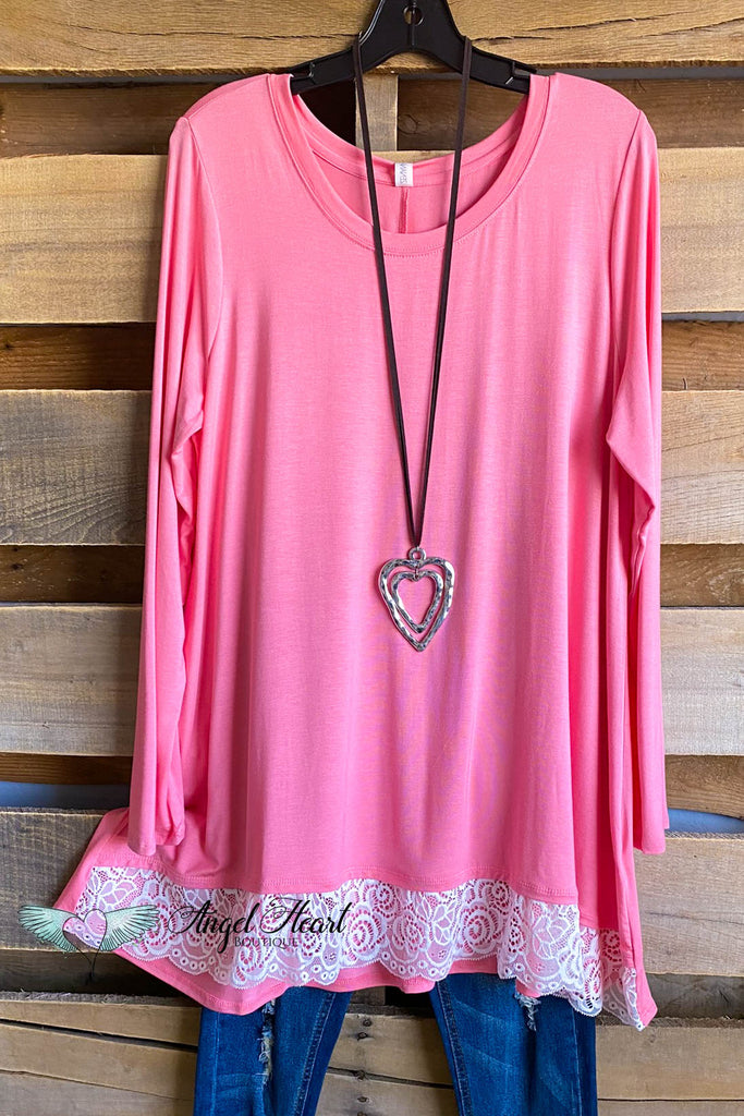My Everything Tunic - Rose Pink-