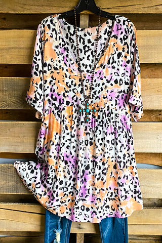 Bright & Beautiful Top - Leopard