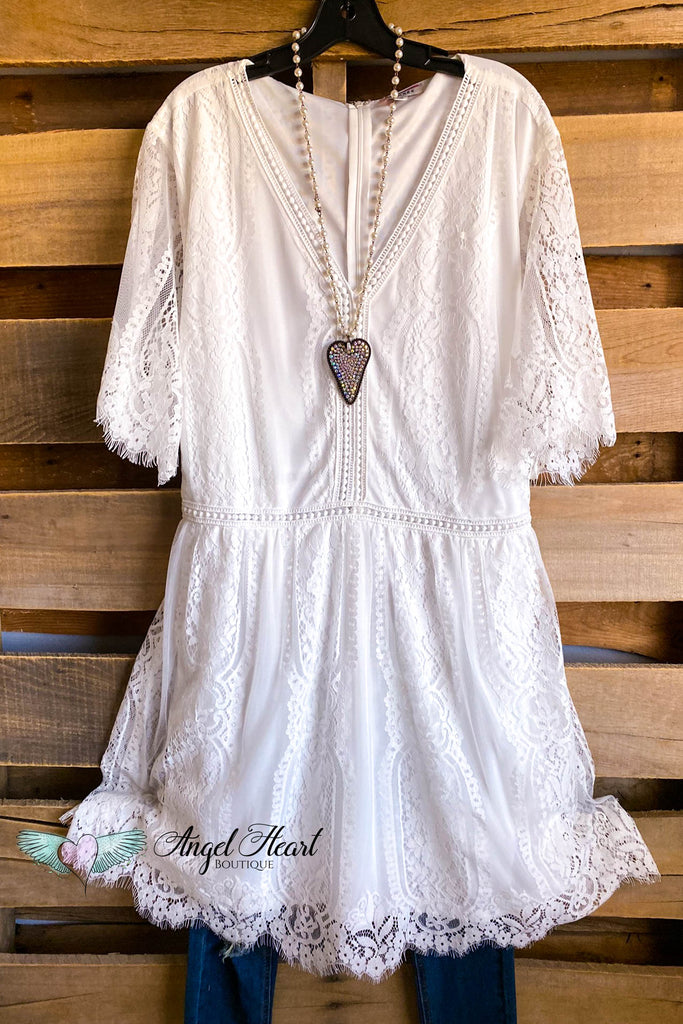 Purely Perfect Dress - Ivory