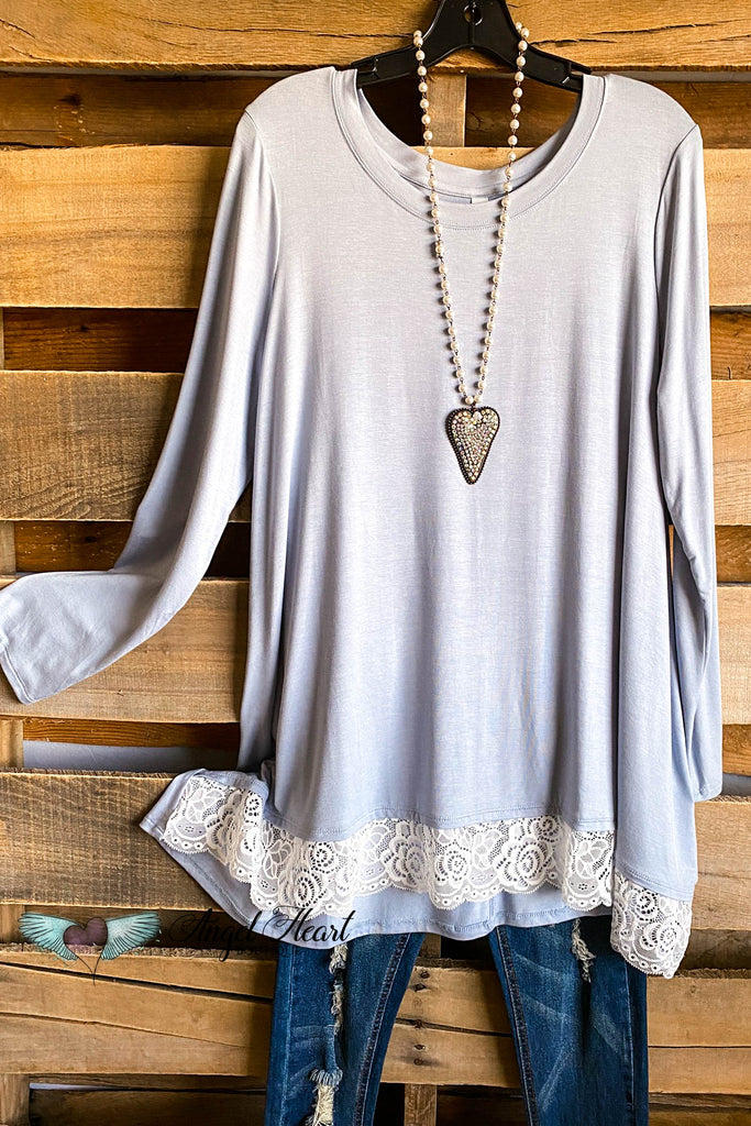 My Everything Tunic - Ash Blue