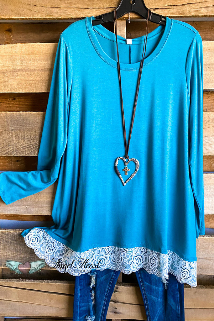 My Everything Tunic - Dusty Teal