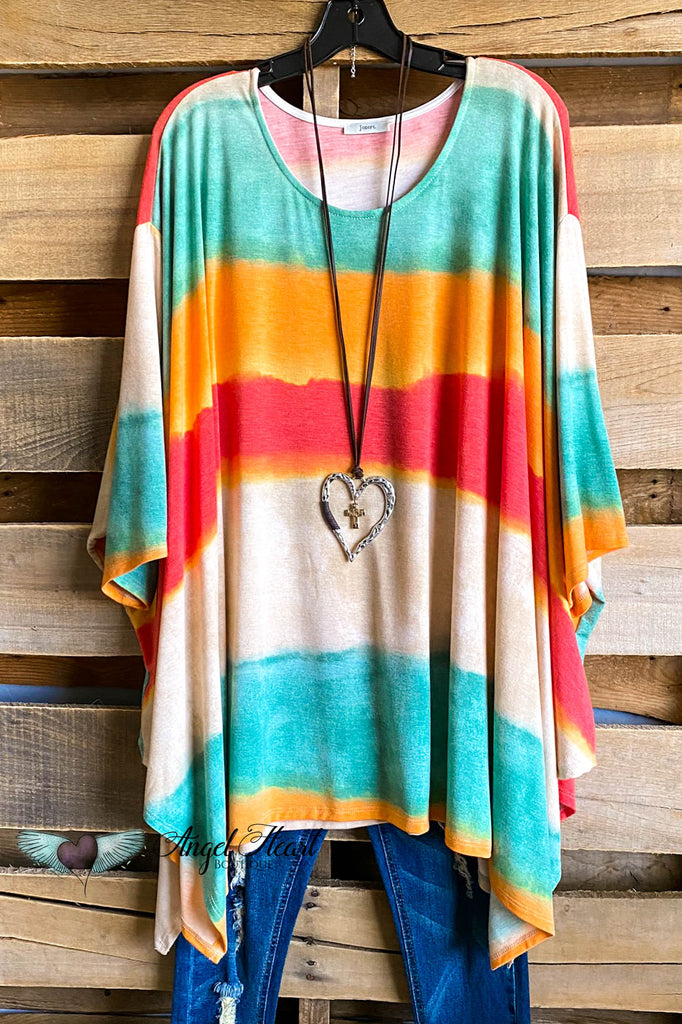 Sunrise Colors Tunic - Multi