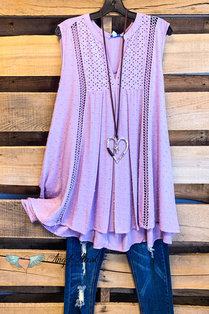 Kiss You In The Morning Top - Mauve/Purple