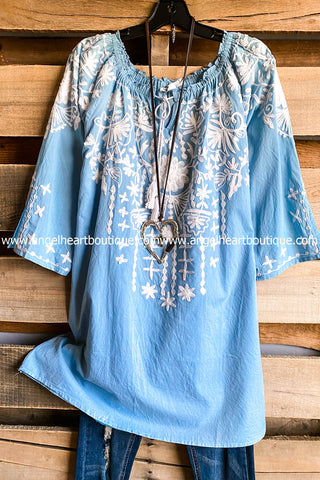 Part The Waters Kimono - Grey