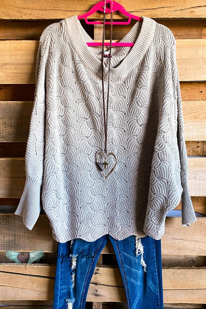 Constantly Cozy Sweater - Grey