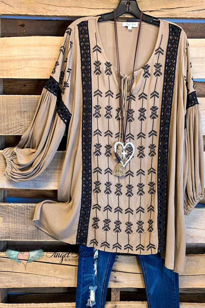 AHB EXCLUSIVE: Marrakesh Tunic - Mocha