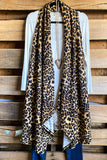 Very Best Vest - Leopard/Mocha