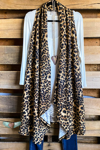 All That Fur Sweater - Ivory Leopard