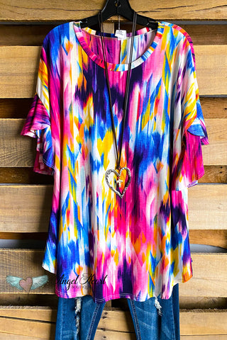 AHB EXCLUSIVE: Stacks Of Love Tunic - Black