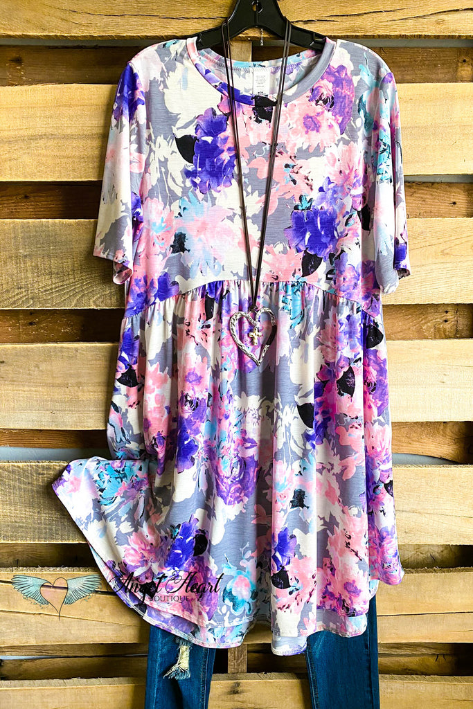 The Story Of Love Dress - Lavender