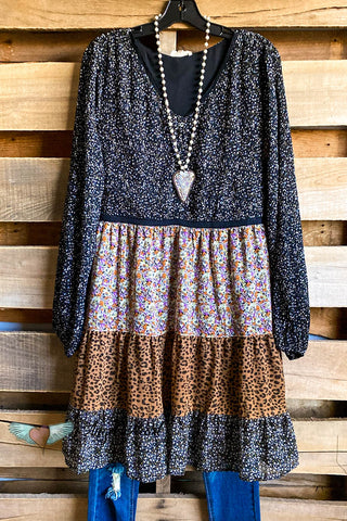 Perfect Details Dress - Leopard