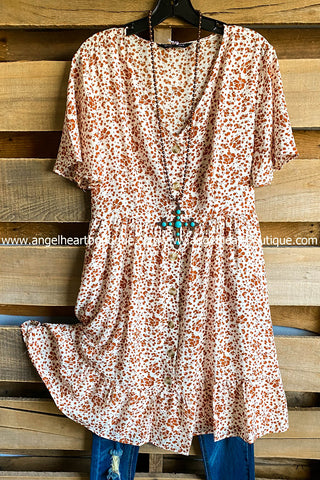 AHB EXCLUSIVE - Only Thing That Matters Tunic - Crimson