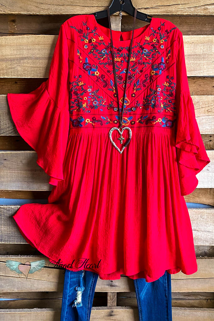 Beauty Is My Name Dress - Strawberry
