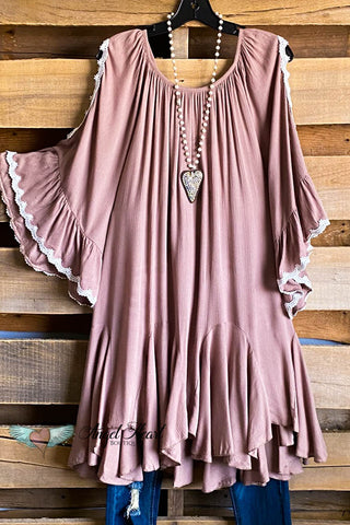 Light The Night Dress - Amber - Oversized