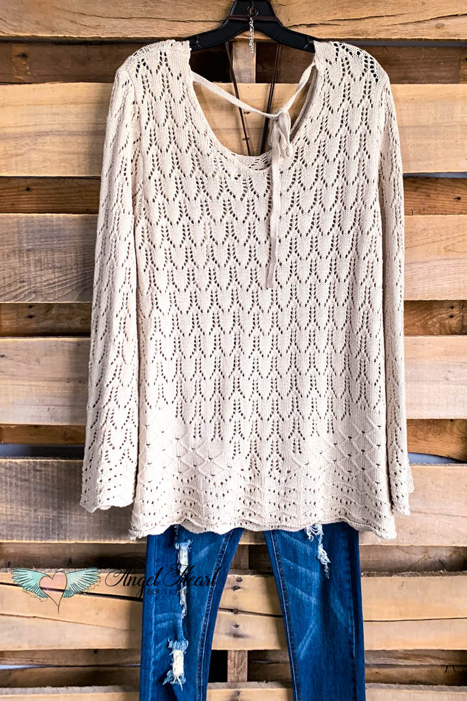 Ease Into The Day Tunic - Taupe