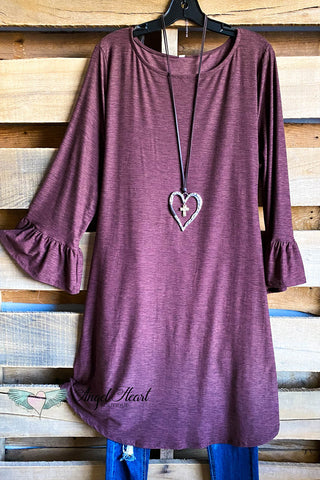 AHB EXCLUSIVE: The It Girl Oversized Loose Fitting Tunic - Purple