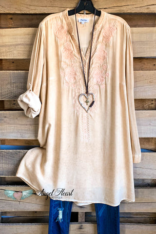 AHB EXCLUSIVE - What a Dream Long Duster - Cream