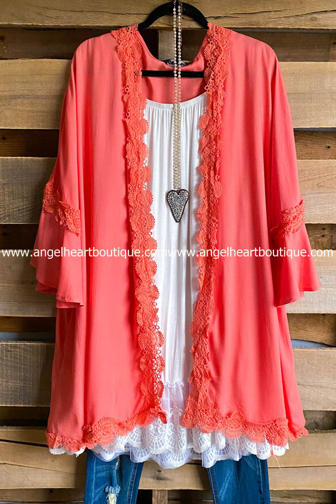 Driving Me Crazy Tunic - Salmon