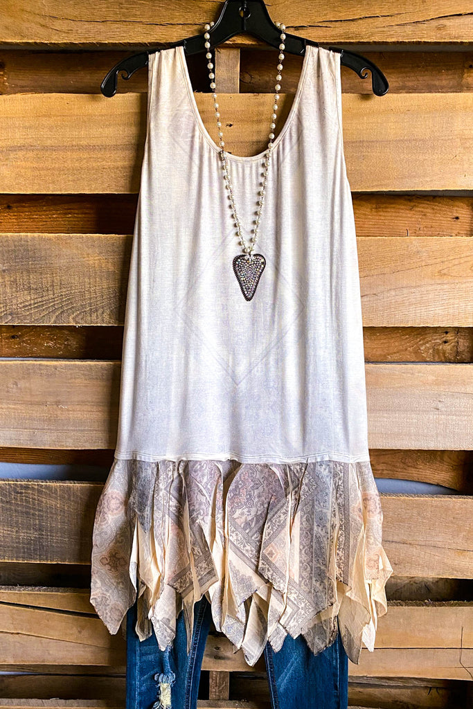 AHB EXCLUSIVE: All My Layers Tank - Beige/Brown