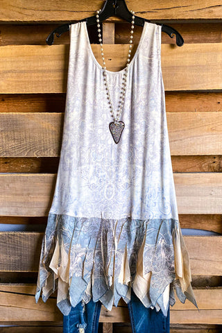 AHB EXCLUSIVE: Today and Forever Tunic - Grey