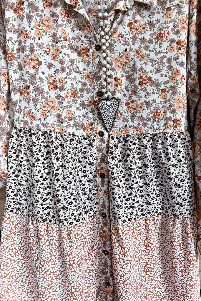 AHB EXCLUSIVE:  One More Time Long Kimono Lace - Leopard