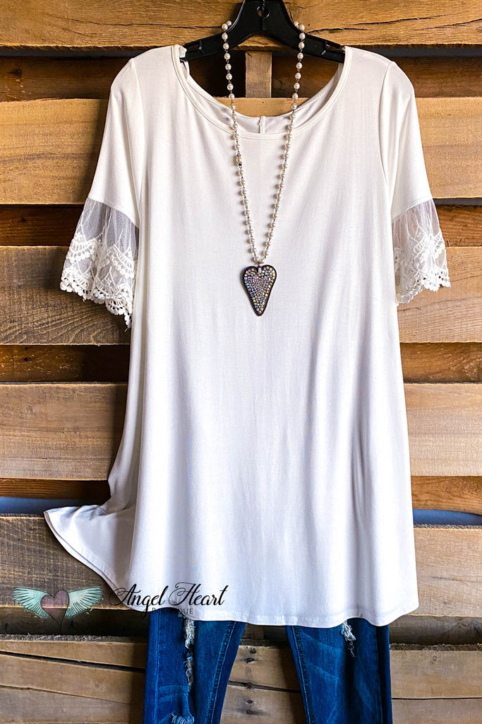 Sweet Darling Tunic - Off White