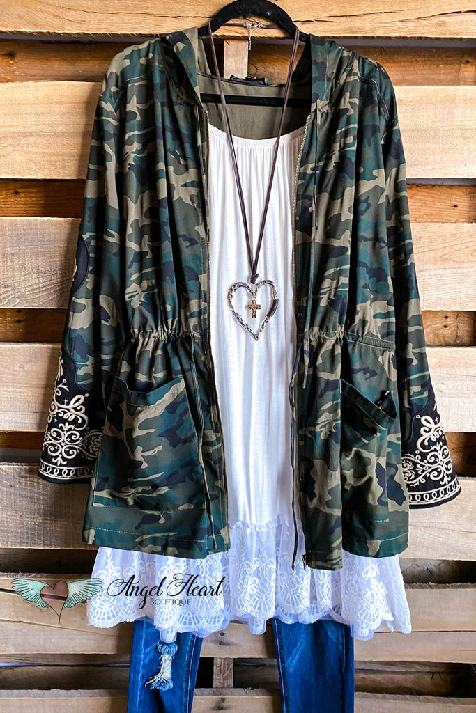Into The Woods Jacket - Camo