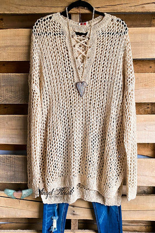 Getting Happy Cardigan - Off White