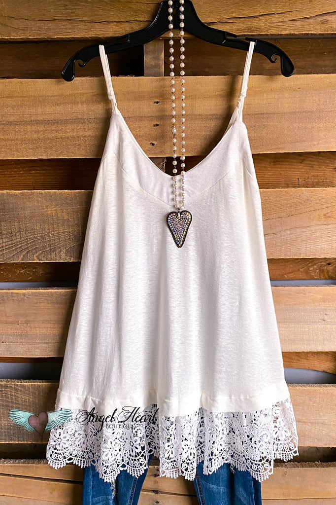 Soft and Sophisticated Tank - Off White
