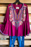 Great Days Tunic - Burgundy