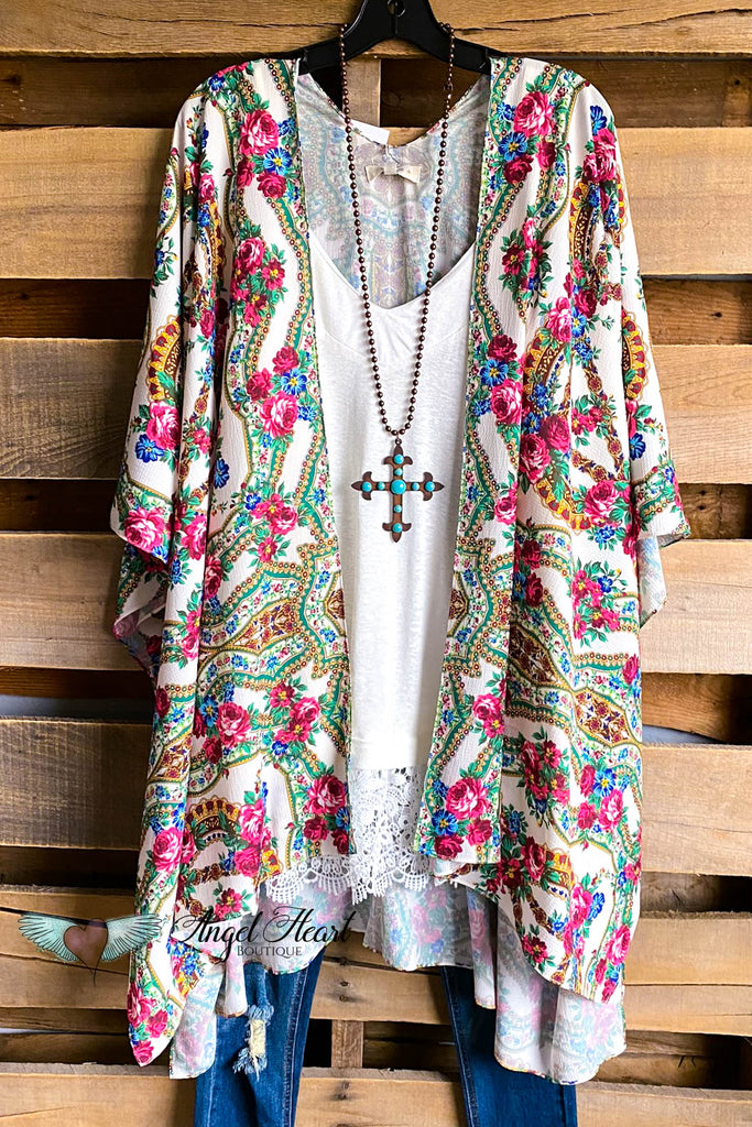 Just a Beauty Kimono - Natural Mix