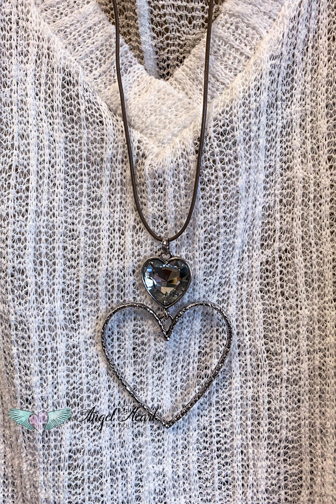 AHB EXCLUSIVE: Nothing To Loose Necklace - Brown