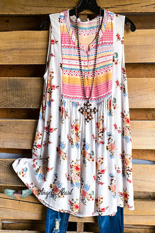 On The Mark Dress - Multi - SALE