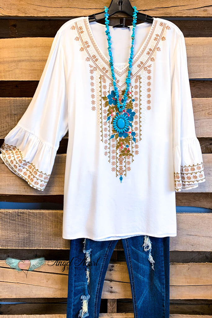 AHB EXCLUSIVE:  After Dawn Tunic - Ivory