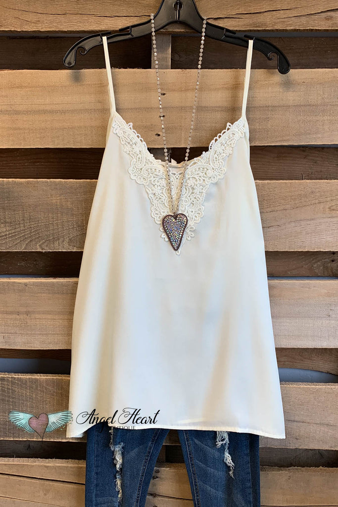 That Perfect Cami - Details - Off White