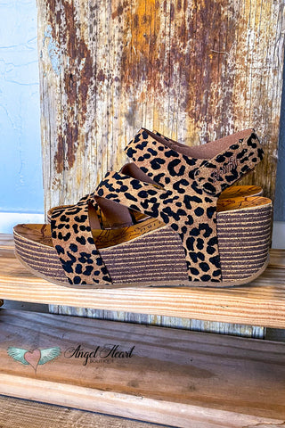 My Romantic Side Suede Booties - Leopard