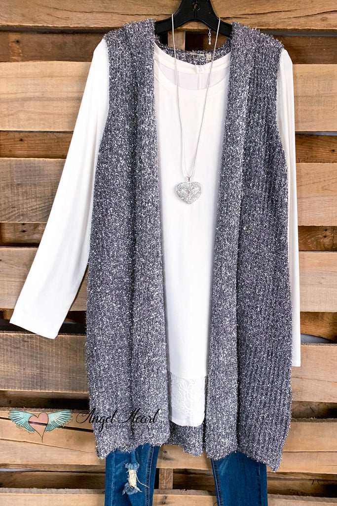 AHB EXCLUSIVE: All Around Amazed Vest - Charcoal