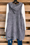 AHB EXCLUSIVE: All Around Amazed Vest - Charcoal - SALE