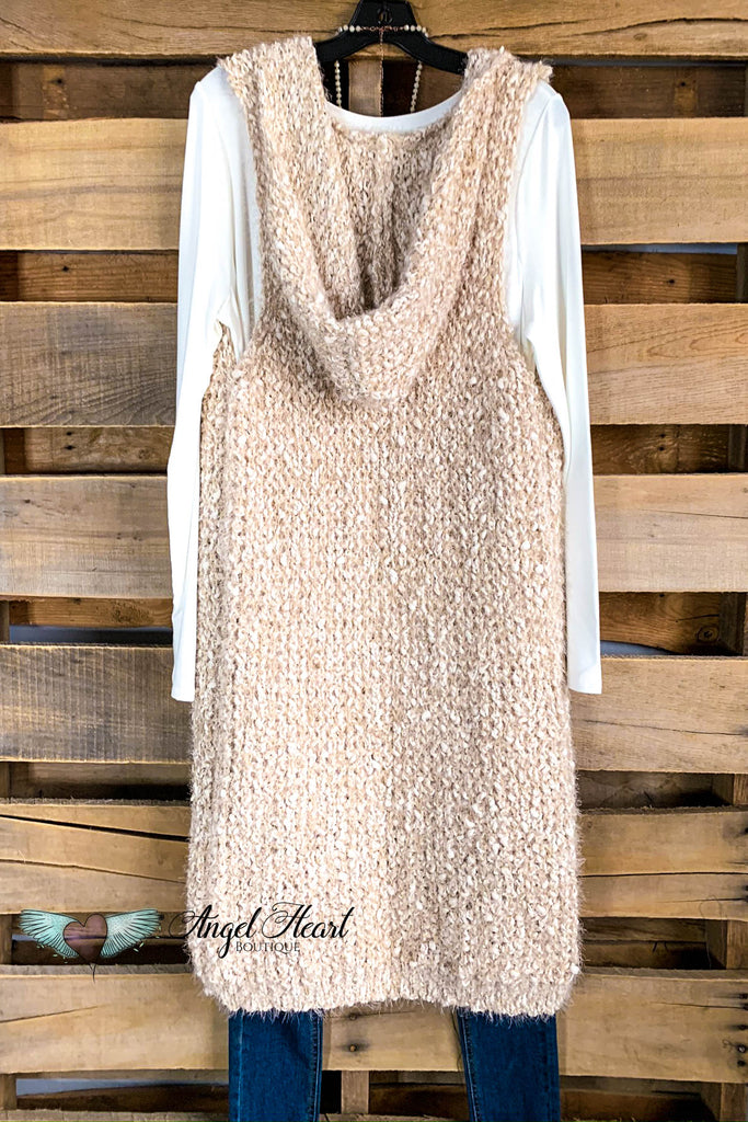 AHB EXCLUSIVE: Sugar and Spice Vest - Beige