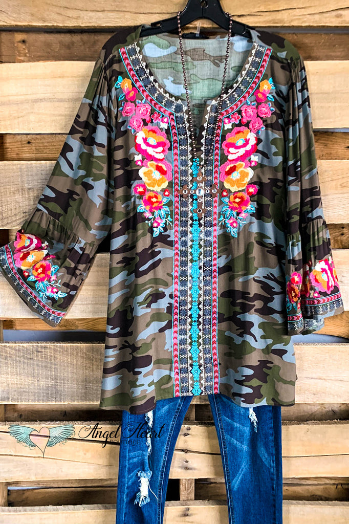 AHB EXCLUSIVE: Lead By Example Tunic - Camo